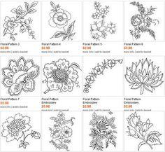 flower embroideri, embroideri inspir, embroideri pattern, color, floral embroideri, embroideri design, flower embroidery patterns, flowers, machine embroidery designs