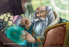 children ilustration wizard´s