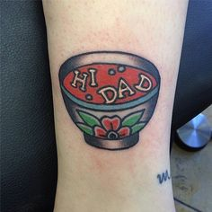 Goofy Soup: Source: Instagram user joeltattooer