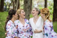 Bridesmaid Robes, Wedding Robes, Bridal Robes, Bridal Sleepwear, Women's Sleepwear, Bridesmaid Gift Made to order! Shop the Piyama Bridal Boutique: www.etsy.com/au/shop/Piyama