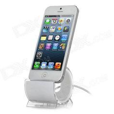 Dock para el iPhone 5 con lightning, de diseño y barato