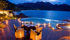 Dinner for two overlooking your private pool at Banyan Tree Seychelles - Victoria, Seychelles #JetsetterCurator