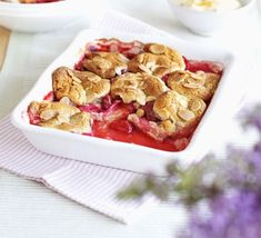 If crumble is a winner with your family, try this – it's a little different but just as delicious