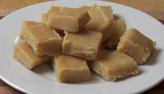 ~Peanut Butter Freezer Fudge~ **Ingredients** 2 cans Sweetened condensed milk (I use Eagle Brand)●6 1/2 Tablespoons butter●1 cup whipping cream ●1 teaspoon vanilla extract●3/4 cup smooth peanut butter (chunky can also be used). **Directions** Line a 8x8 pan with parchment paper, set aside. In a medium saucepan, stir all ingredients together over medium heat until mixture become thick (about 15 minutes) being careful not to burn yourself (mixture gets hot, so you might want to use a oven…