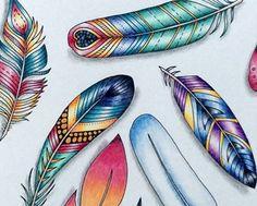 Johanna Basford | Morena Vajak  Inspirational Coloring Pages