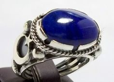 925 Sterling Silver Men's Ring with Totally by lunasilvershop, $104.90