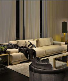 New display sofa in BEAUFORT Interiors, N. Ireland