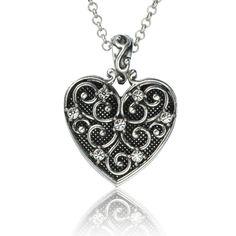 Believe Heart Necklace on SonGear.com - Christian Shirts, Jewelry
