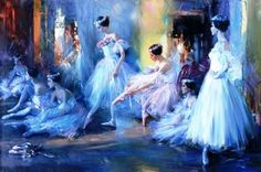 Ballett Paintings by Constantine Lvovich