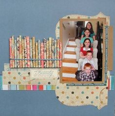 what a great way to use scraps