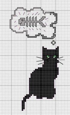 Cross stitch patterns- cat