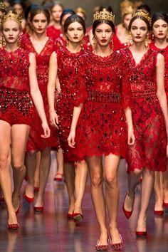 Dolce & Gabbana AW 2013-2014