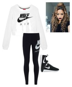 """Nike"" by natalielaine77 on Polyvore featuring NIKE"
