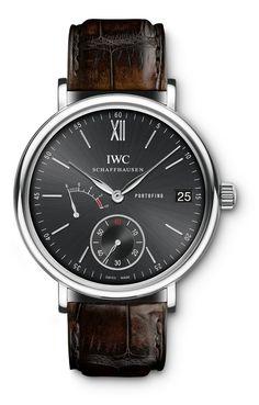 Men's IWC Portofino Hand-Wound Eight Days Watch IW510102