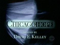 Chicago Hope was my first big medical show. I came much later to the ER party - right about the time they went off the air.