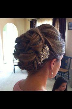 Hair pin up