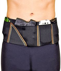 The sporty, outdoorsy, carry-everything holster you'll love to wear everyday! Available in Small through 3X-L for guys and dolls!