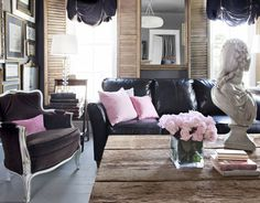 french inspired modern decor