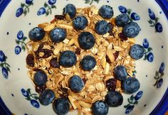 Granola - no oils added; recipe not shown; idea in My Adventures Testing 1000 Vegan Recipes