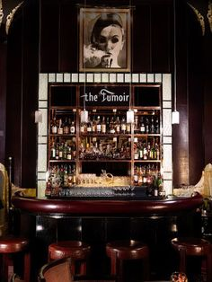 Fumoir bar at Claridge's Hotel, London Best Picture For art deco interior entrance For Your Taste You are looking for something, and it is going to tell you exactly what you are looking for, and you d Art Deco Bar, Architecture Restaurant, Restaurant Design, Bar Lounge, Bar Speakeasy, Modern Bar, Das Hotel, Cool Bars, Smoking Room