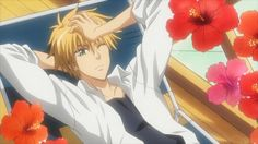 Usui Takumi from Kaichou Wa Maid Sama Cool Anime Guys, Hot Anime Boy, Awesome Anime, Best Romantic Comedy Anime, Usui Takumi, Maid Sama Manga, Anime Bebe, Kaichou Wa Maid Sama, Bishounen