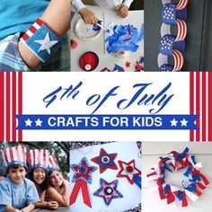 Fun and Easy 4th of July Crafts for Kids