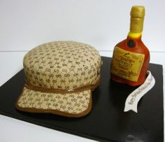 Hennessy Gucci Hat - Birthday Cakes - TipsyCake Chicago