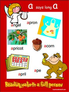 a words - words starting with a - FREE Phonics Posters for Your Word Wall Letter C Activities, Kids Learning Activities, Language Activities, Phonics Reading, Teaching Phonics, Teaching Reading, Alphabet Sounds, Phonics Sounds, English Phonics