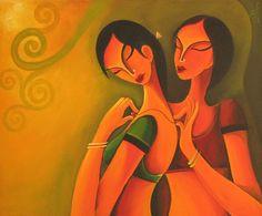 Juily Gite Painting - SuchitrraArts.com
