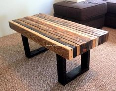 pallets coffee table 19