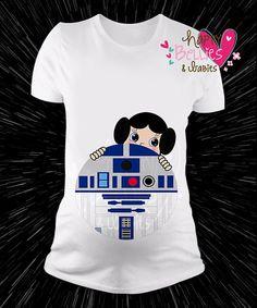 Star wars maternity shirt Maternity by Happybelliesanbabies