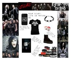 """Get Scared"" by horror-hottie ❤ liked on Polyvore featuring Dr. Martens"