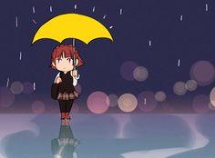 It's raining at Shujin Persona 5 Makoto, Persona 5 Anime, Persona 5 Joker, Persona 4, Star Citizen, Video Game Art, Video Games, Makoto Niijima, Persona 5 Memes
