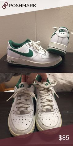 09e1c19c05ed AIR FORCE 1 NIKES 1982 Vintage shamrock limited edition nikes Nike Shoes  Athletic Shoes