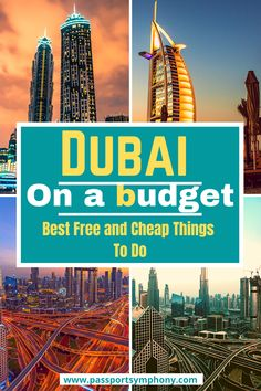Are you planning to travel to Dubai soon? Check out our Dubai travel guide for some useful information. Here are some of the best free and cheap things to do in Dubai.   #dubaionabudget #visitdubai #traveltodubai Dubai Vacation, Dubai Travel, Asia Travel, Solo Travel, Eastern Travel, Travel Abroad, Dubai Things To Do, Cheap Things To Do, Places To Travel