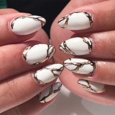 The marble trend has made it's way to nail design. nailed (pun intended) this look! Nail Polish Designs, Nail Designs, Bright Red Nails, Moon Manicure, Bridal Nail Art, Wedding Manicure, Marble Nail Art, Types Of Nails, Professional Nails