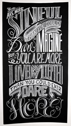 Hand Lettering Poster by Katherine Rainey, via Behance----Only The Good Die Young = P graphics: