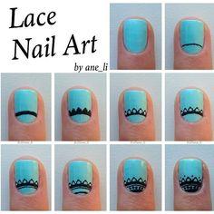 lace-nails diy