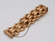 c.1960 18k Gold Tank bracelet  #mid-century #modernist #midcenturymodern #retro