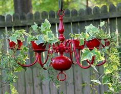 Ideas for Old Chandeliers | old chandelier, great idea for a porch