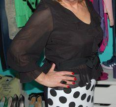 CAMICIA DONNA RED VALENTINO NERA TG46 IN SETA Valentino, Blouse, Long Sleeve, Sleeves, Tops, Women, Fashion, Moda, Women's
