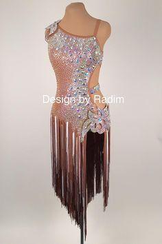 Latin Dance Dresses   Rhythm Dresses by Radim Lanik Danse De Salon 9c14919a415