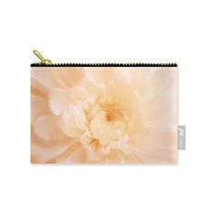 Peach Mum Luminous Painted Blossom Carry All Pouch Patrushka