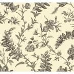York Wallcoverings 60.75 sq. ft. Williamsburg Solomon's Seal Wallpaper WM2518 at The Home Depot - Mobile