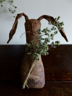 Grubby Spring Rabbit...with herbs...