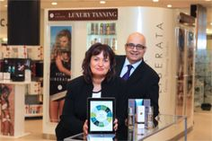 Glowing Future Ahead for Vita Liberata with Sage 200 Solution from Pinnacle - Siobhan Marley, Business Development Director Pinnacle with Johnny Choda, Chief Operating Officer Vita Liberata Ltd.