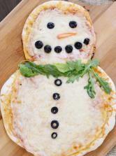 La pizza de Noël