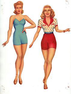 1942 Lana Turner paper dolls / gabipaperdolls.blogspot.com