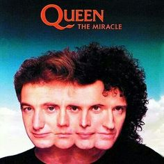 The Miracle is the thirteenth studio album by the British rock band Queen, released on 22 May 1989 by Parlophone Records in the United King. Queen Album Covers, Rock Album Covers, Classic Album Covers, Music Album Covers, Freddie Mercury, Discografia Queen, Lps, Albums Queen, Queen The Miracle