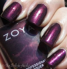 Zoya Fall 2011 Mirrors Collection Swatches // Jem